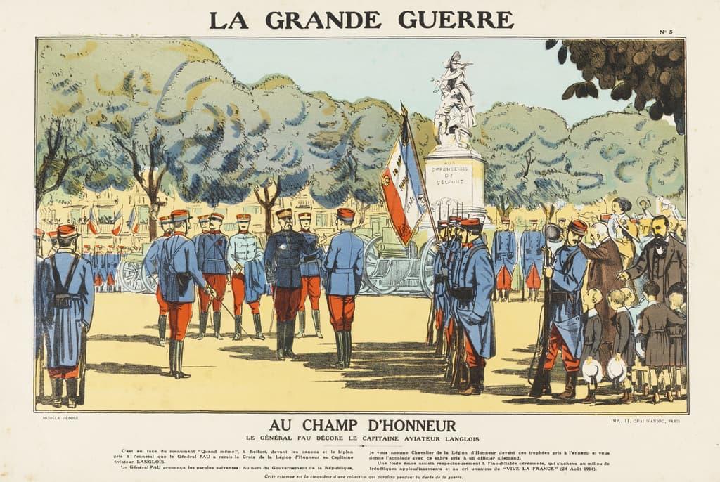 Featured image for the project: Au champ d'honneur...