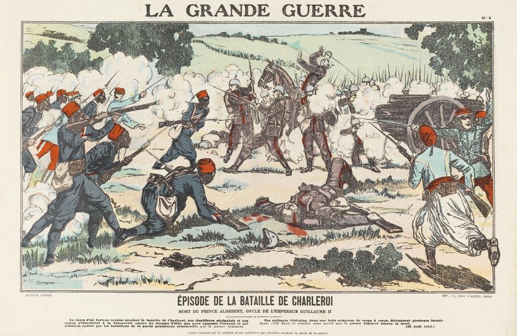 Featured image for the project: Épisode de la bataille de Charleroi...