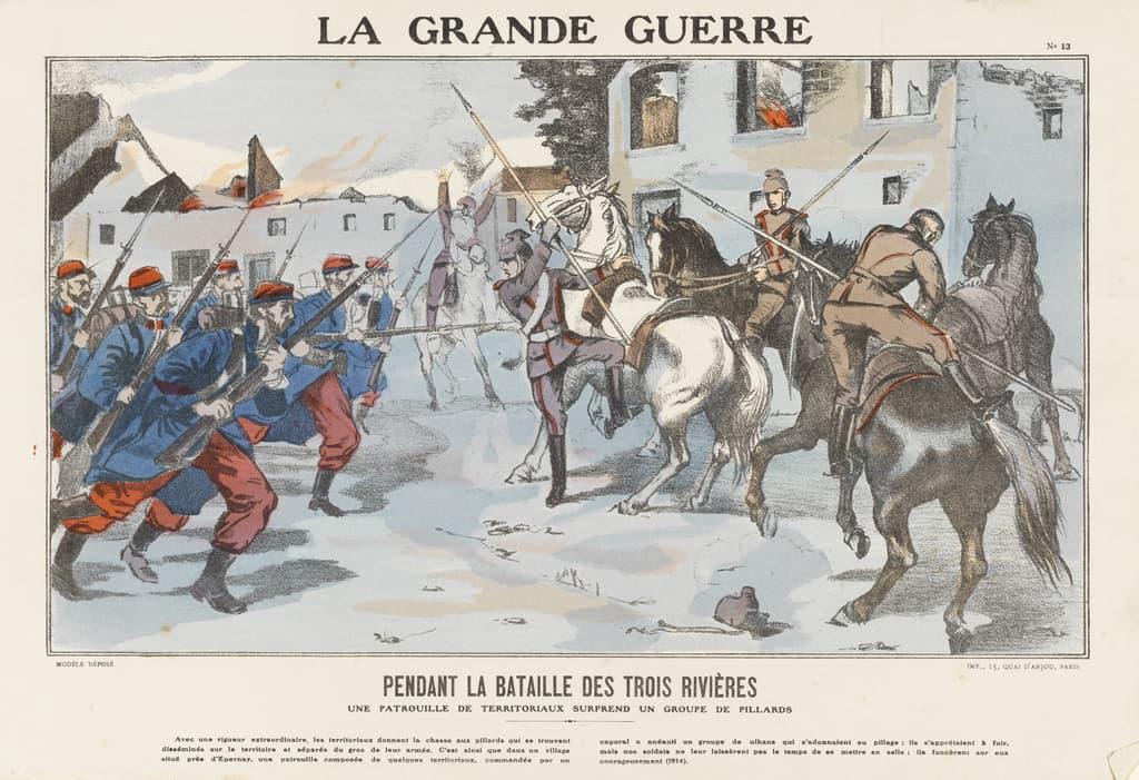 Featured image for the project: Pendant la bataille des trois Rivieres...