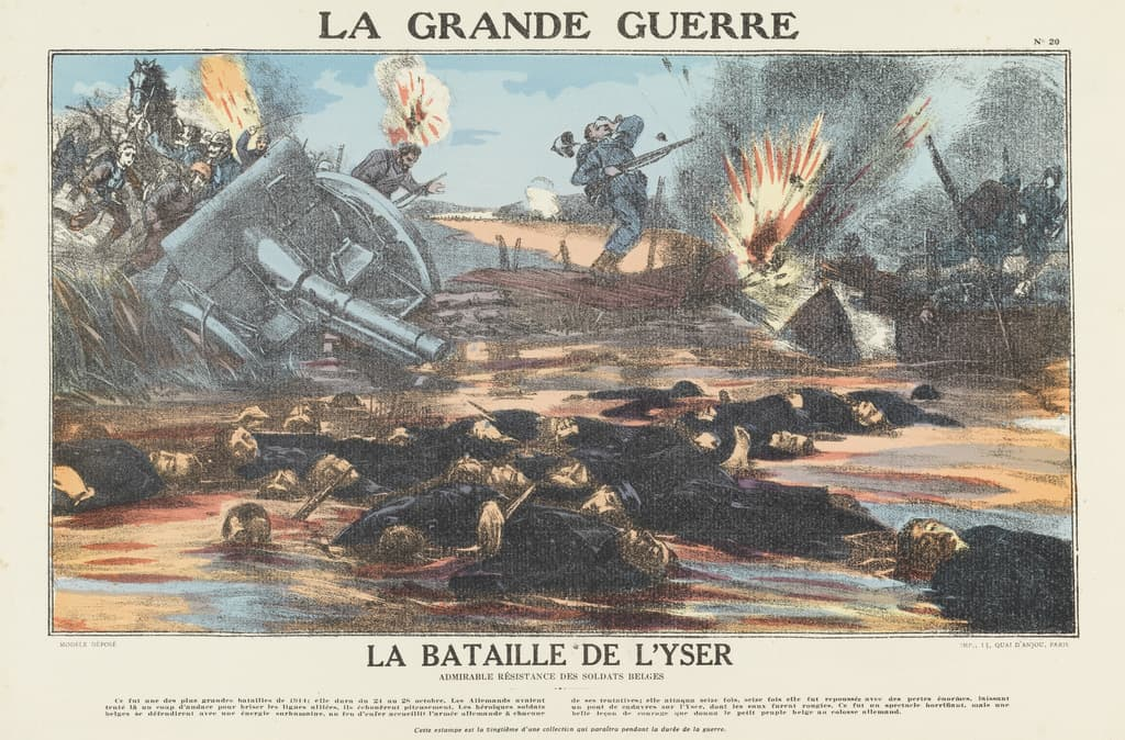 Featured image for the project: La Bataille de l'Yser...