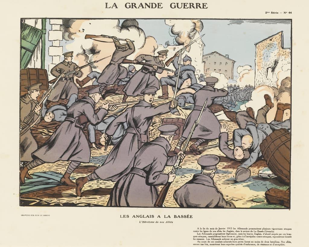 Featured image for the project: Les Anglais à La Bassée...
