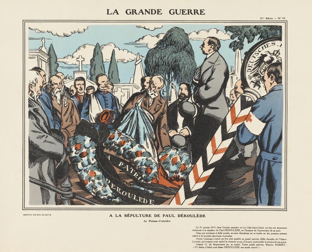 Featured image for the project: A la sépulture de Paul Déroulède..